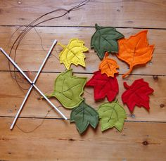 Autumn Leaves Mobile £20.00