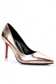 LUCLUC Black Classic Fashion High Thin Heel Shoes