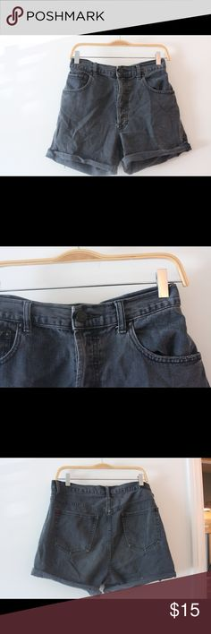 Black Jean shorts high waisted Urban Outfitters Shorts Jean Shorts