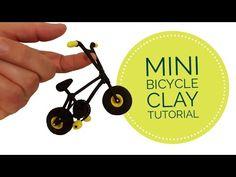 Mini Bicycle Clay Tutorial - YouTube