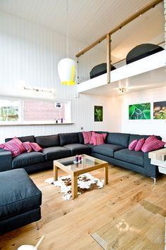 Двухуровневая квартира в Швеции | Дизайн интерьера, декор, архитектура, стили и о многое-многое другое
