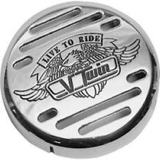 Show Chrome V-Twin Horn Cover Yamaha XVS650A XVS1100 1100 Custom XVS650 XVS1100A