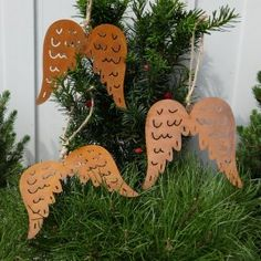 edelrost fl gel zum einhaken muster weihnachten advent. Black Bedroom Furniture Sets. Home Design Ideas