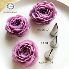 "425 Likes, 19 Comments - Butter&Blossoms. (@butterblossoms) on Instagram: ""Try to use different tips to create your own rose. I just got new tip (gg cakraft) from my…"""