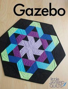A New Jaybird Quilts Pattern: Meet Gazebo Table Topper!