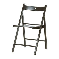 TERJE Silla plegable - negro - IKEA    12.99 €