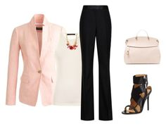 """""""Peaches 'n' Cream"""" by lollahs ❤ liked on Polyvore"""