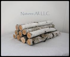 Your place to buy and sell all things handmade Birch Logs, Birch Bark, Fireplace Logs, Decoration, Empty, Living Spaces, Fill, Just For You, This Or That Questions