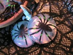 Colorful Spider Soap- Great for Halloween by MidniteMuseBoutique for $3.00