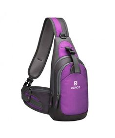 31948f5eb7df Sling Bag Men Women Unbalance - 01-Purple - CA18DAHYQDG