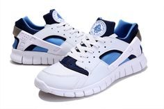 3111912366f3b Nike Huarache Free 2012 Runs White Royal Navy Adidas Running Shoes