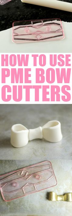 How to Use PME Bow C