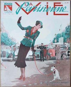 Henry Fournier. La Vie Parisienne,  7 Mai 1932. [Pinned 9-iii-2018]