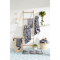 decorative Bamboo Ladder homemaker Bamboo