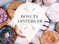 Donut time! But where do you get the best ones? We listed our 6 favourite spots for donuts in Amsterdam so you can try them too!