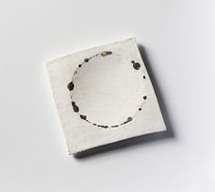 Per Suntum - Interplay # 13 - Brooch, 2006 - Silver, fine silver. The Art Association of the 14th of August