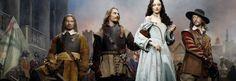 Complex picture: A scene from Channel Four's Civil War drama 'The Devil's Whore'