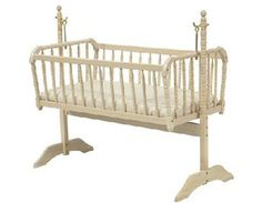 Adorable Cribs for Baby Girls' Rooms: Jenny Lind Cradle