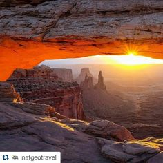 Check out @natgeotravel this week as they feature beautiful pics from our parks in honor of #nationalparkweek!   #FindYourPark #NPS100 ♻💯👍🎂🌴🌵🌲⛺🌄📷 #Repost @natgeotravel ・・・  National Parks, [4 of 18], Photo by @jonathan_irish // Mesa Arch is one of the highlights of any visit to the Islands in the Sky section of Canyonlands National Park. But to get this shot, you have to get up well before sunrise, drive into the park, and set up in the right spot before the other photographers get…
