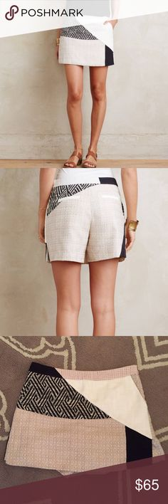 """NWT $108 Anthropologie Patchwork Skort Elevenses 6 ▪️ Elevenses from Anthropologie  ▫️ Size 6  ▪️ """"Patchwork Skort""""   ▫️ Side slant, back welt pockets. Side zip.  ▪️ New with tags! Originally $108!  ▫️ Waist: 16"""" across the front, lying flat.   ▪️ Inseam: 5"""".  ▫️ Length: 15"""" from middle top to bottom hem.  ✳️ Bundle to Save 20%!  ❌ No Trades, Holds, PP, Modeling  🎀 100% Authentic!   ⭐️⭐️ Suggested User • 1500+ Sales • Fast Shipper • Best in Gifts Party Host! ⭐️⭐️ Anthropologie Shorts Skorts"""