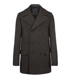 Mast Pea Coat, Men, Shop Archive, AllSaints Spitalfields