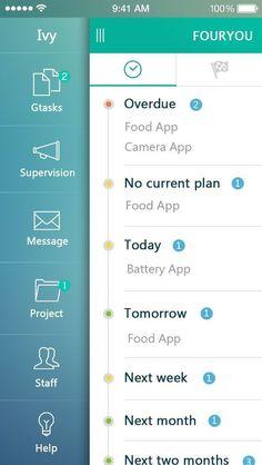 Inspiration Mobile #18 : Sidebar et Burger Menu | Blog du Webdesign: