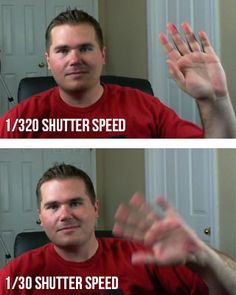 Shutter Speed and Aperture explained