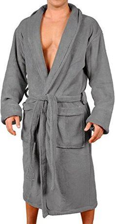 Mens New Charcoal Micro Fleece Bathrobe by Wanted Small /... https://www.amazon.com/dp/B008CGQQHU/ref=cm_sw_r_pi_dp_x_vUN6xbCG96W9F