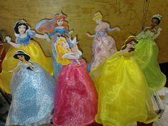centros de mesa princesas - Buscar con Google