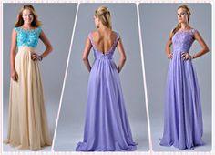 Straps shoulder Low BACK Prom gown evening dress#cn1086