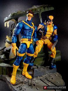 Loosecollector Custom Action Figures Official Website: Cyclops : Jim Lee style