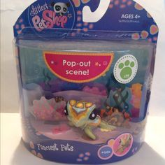 Please check my Page for more Littlest Pet Shop.. LPS #1839 Sea Turtle.. This is Brand New in Package.. This was bought a long time ago so Package is not perfect.. Smoke free home.. Fast free shipping..