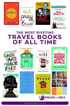 Eagerly searching for reading to feed your wanderlust? Plenty of time and running out of ideas on productive things to do at home? For you, several travel pros and I curated this list of the best travel books of all time Travel Articles, Travel Advice, Travel Guide, Best Travel Books, Travel Movies, Travel Gifts, Travel Things, Reading Books, Books To Read