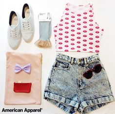 Outfit idea! #ootd #AmericanApparel