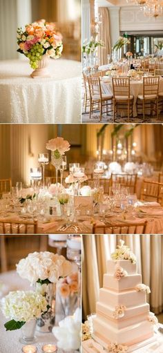 Wedding Invitations for Rose Gold & Blush Pink Wedding <3