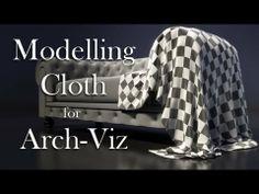 Modelling Cloth for Arch-Viz in Blender
