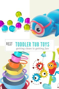 Make bath time a blast with the best bath toys that toddlers will love