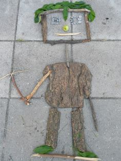 Her er en idé til at arbejde med landart med dine elever. Gå ud i naturen og lav flotte skulpturer med med naturens materialer gerne over et tema I arbejder med i klassen.