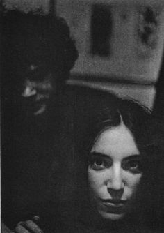 Robert Mapplethorpe and Patti Smith by Lloyd Ziff, 1969.