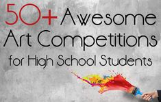 Awesome Art Competitions for High School Students Awesome high school Art Awesome high school Art competitions! Middle School Art, Art School, School Stuff, School Ideas, School Lessons, Art Lessons, High School Art Projects, Cool Art, Awesome Art