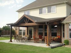 Shed with Gable Patio Covers Gallery - Highest Quality Waterproof Patio Covers in Dallas, Plano and Surrounding Texas Tx.