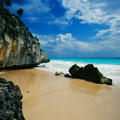 Check out this slideshow The Beach at the Tulum Ruins in this list Ruins of the World