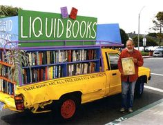 Liquid Books--another mobile library:}