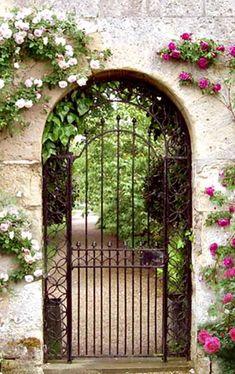 Garden Gate - Harvard University 19th Cen Iron Gates