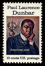Paul Laurence Dunbar on 1975 U.S. postage stamp.