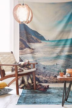 Catherine McDonald For DENY Pacific Coast Highway Tapestry