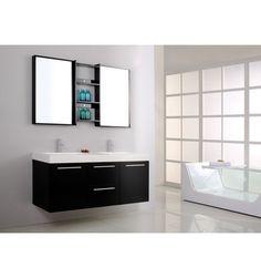 Ensemble de salle de bain MADRID- Meuble Salle de bain double vasque - Décoration salle de bain