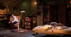 The Collector. The V - The Collector. The Vaults. Scenic design by Max Dorey…