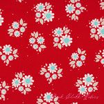 The Quilted Fish Twice As Nice Spice Petals Red [RB-C3524-Red] - $10.45 : Pink Chalk Fabrics is your online source for modern quilting cottons and sewing patterns., Cloth, Pattern + Tool for Modern Sewists