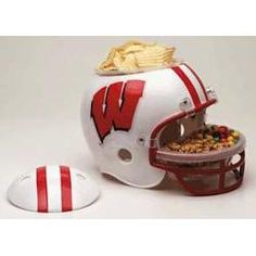 Wincraft Wisconsin Badgers Snack Helmet. Awesome.